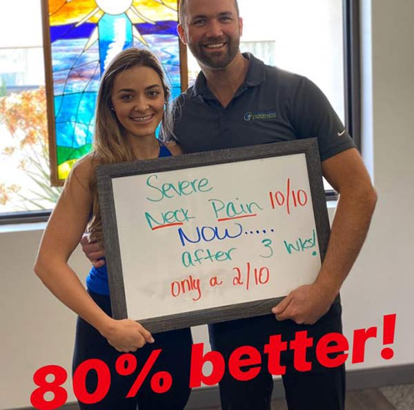 Upper Cervical Chiropractor in San Diego. Low back pain & sciatica for 3+ years, 90% better after only 2 weeks.